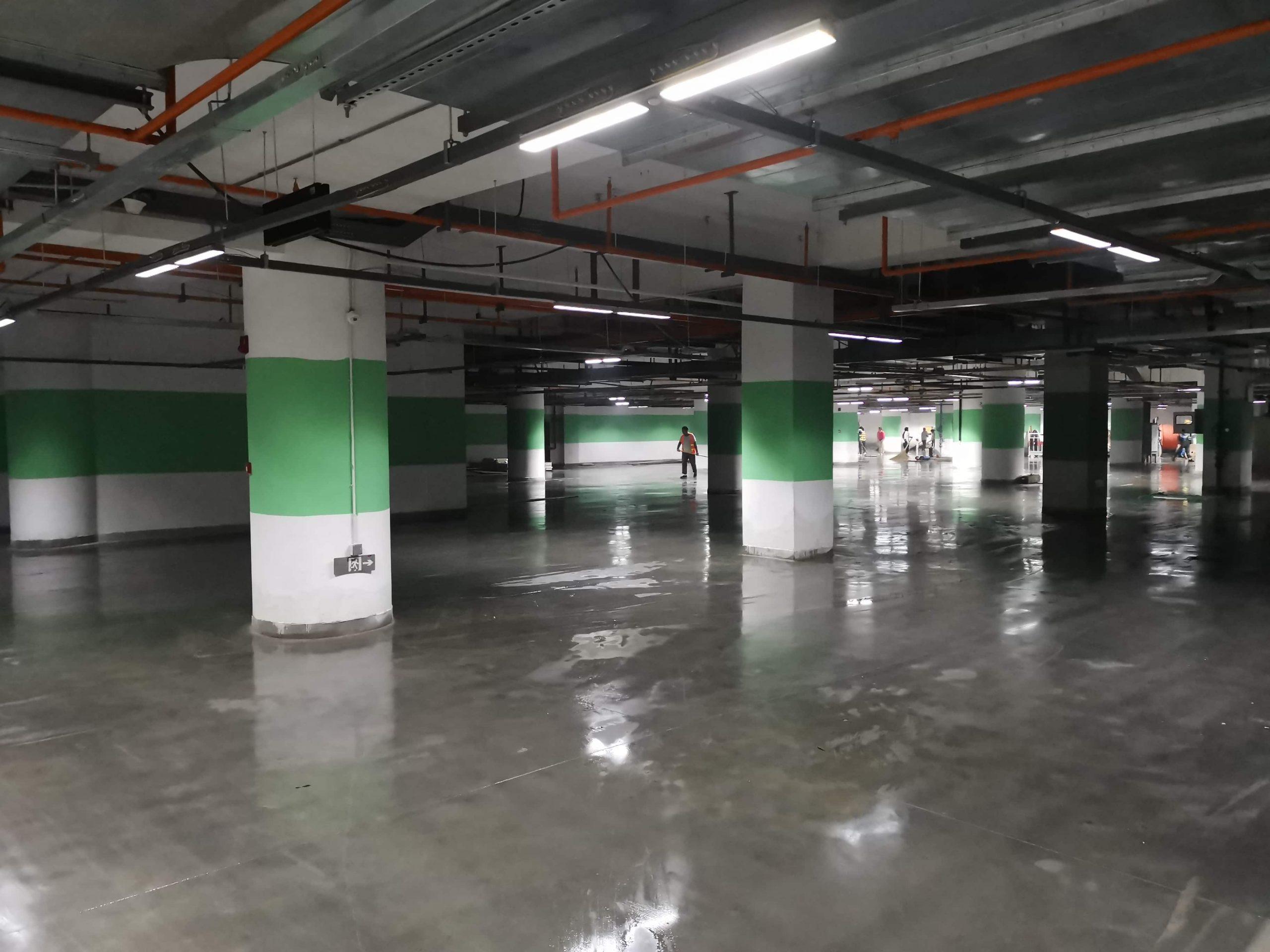西安幸福林带地下车库60000平干燥服务缩略图